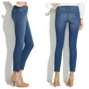 Madewell Side Zip Skinny Jeans